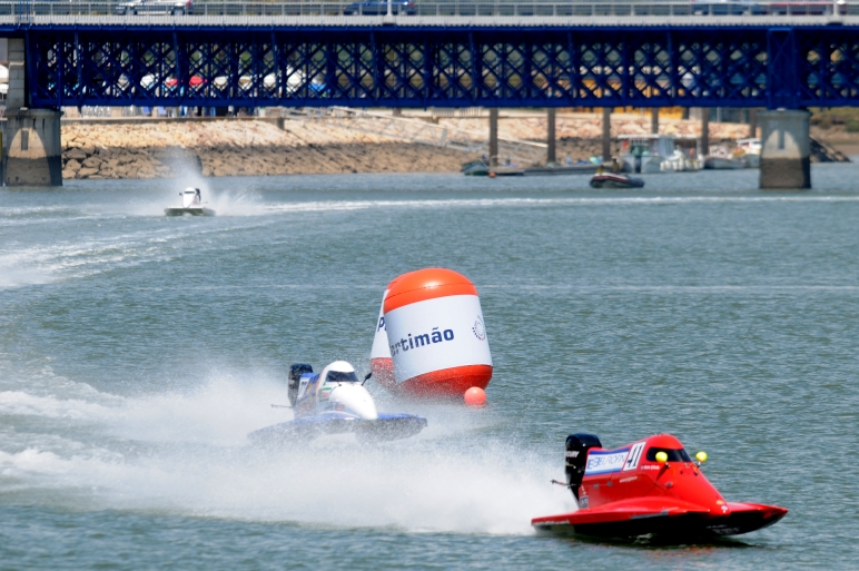 GP PORTUGAL-Portimao-210511-The race of UIM F4 Powerboat Grand Prix of Portugal. Picture by Vittorio Ubertone/Idea Marketing.