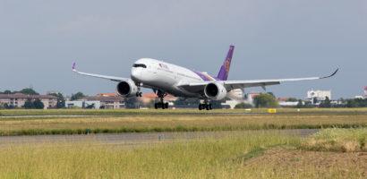 Najnowszy tajlandzki Airbus A350 XWB zrealizował swój dziewiczy, testowy lot
