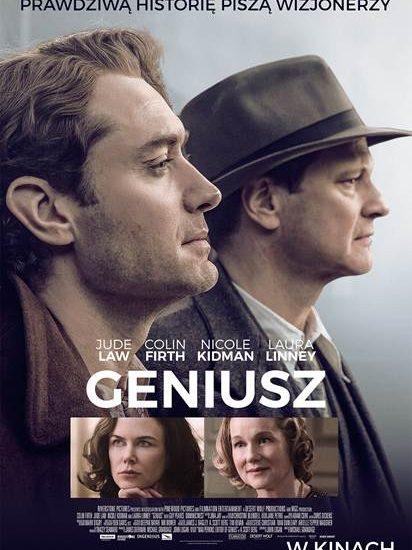 """Film """"Geniusz"""", prawdziwą historię piszą wizjonerzy"""