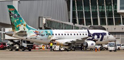 Polskie lotniska odnotowały wzrosty w 2016 r.