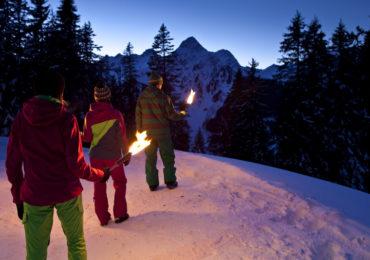 Nocne wędrówki po austriackich Alpach