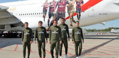 Zawodnicy AC Milan sprawili niespodziankę pasażerom linii Emirates