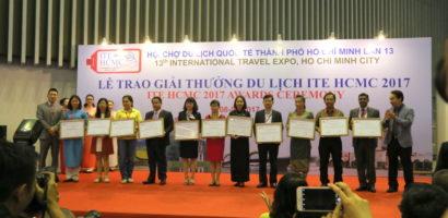 ITE HCMC 2017 Awards – nagrody dla najlepszych wystawców i organizacji turystycznych
